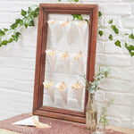 White Scalloped Confetti Cones (10 pack)