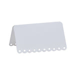 White Scalloped Place Cards (10 pack)