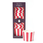 Red Stripes Baking Cups (25 pack)