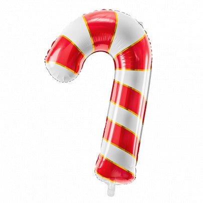 Giant Red Candy Cane Balloon
