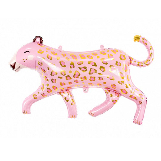 Giant Pink Leopard Balloon