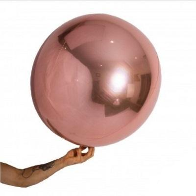 Rose Gold Balloon Ball (2 sizes)