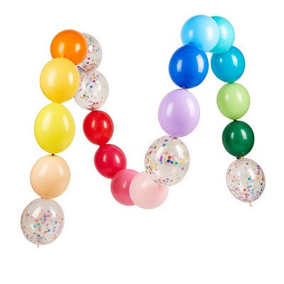Happy Linking Balloon Garland