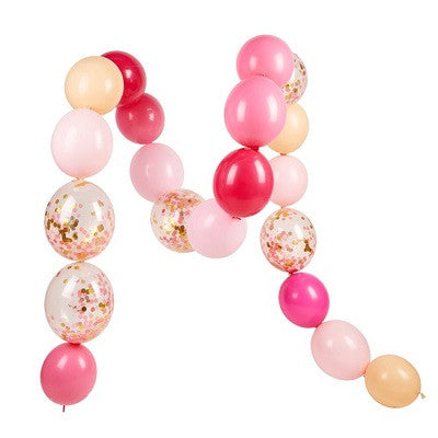 Pink Shimmer Linking Balloon Garland