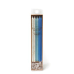 Blue Glitter Candles (12 pack)