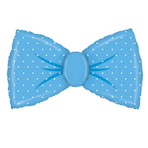 Giant Blue Bow Tie Balloon
