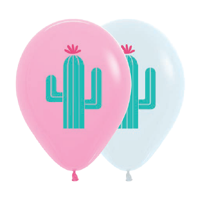 Cactus 30cm Balloons (3 pack)