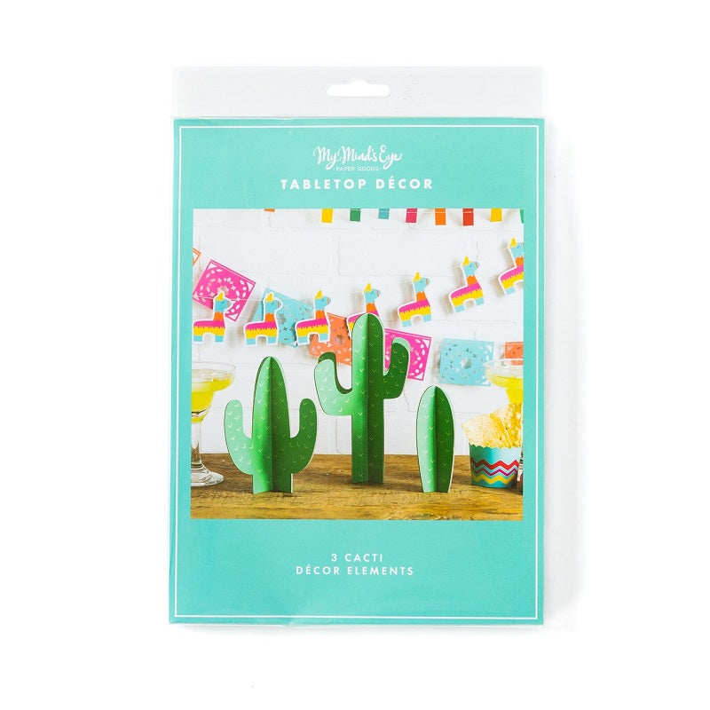 Cactus Decorations (3 pack)
