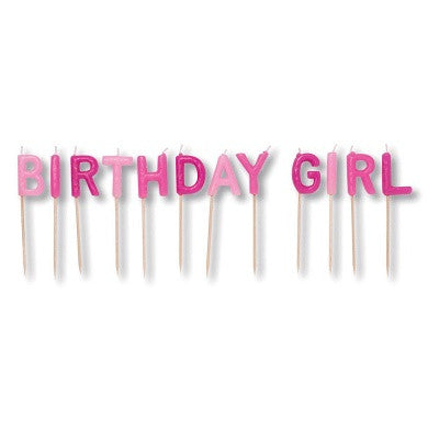 Birthday Girl Candles