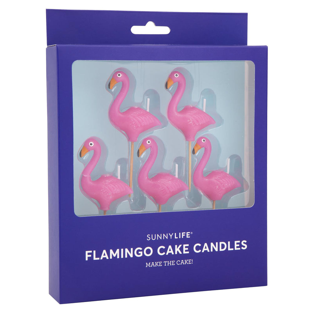 Pink Flamingo Candles (5 pack)