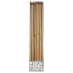 Gold Long Candles (16 pack)