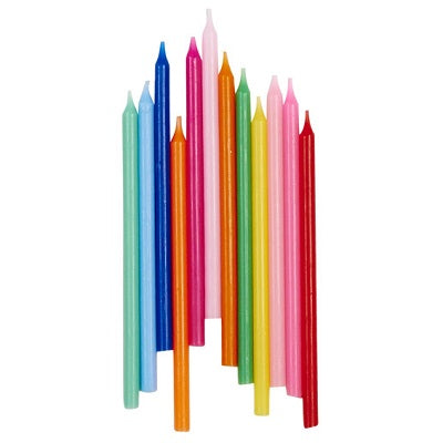 Rainbow Candles (12 pack)