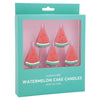Watermelon Candles (5 pack)
