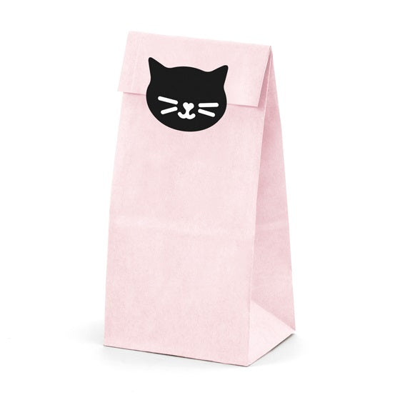 Pink Cat Treat Bags (6 pack)