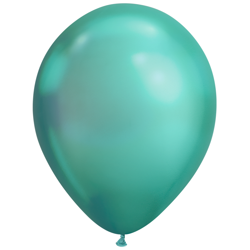 Chrome Standard 28cm Balloons (5 pack)