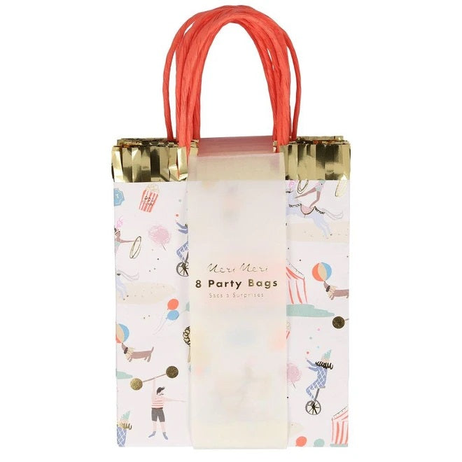 Circus Parade Party Bags (8 pack)