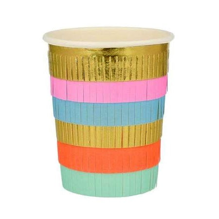 Circus Fringe Party Cups (8 pack)