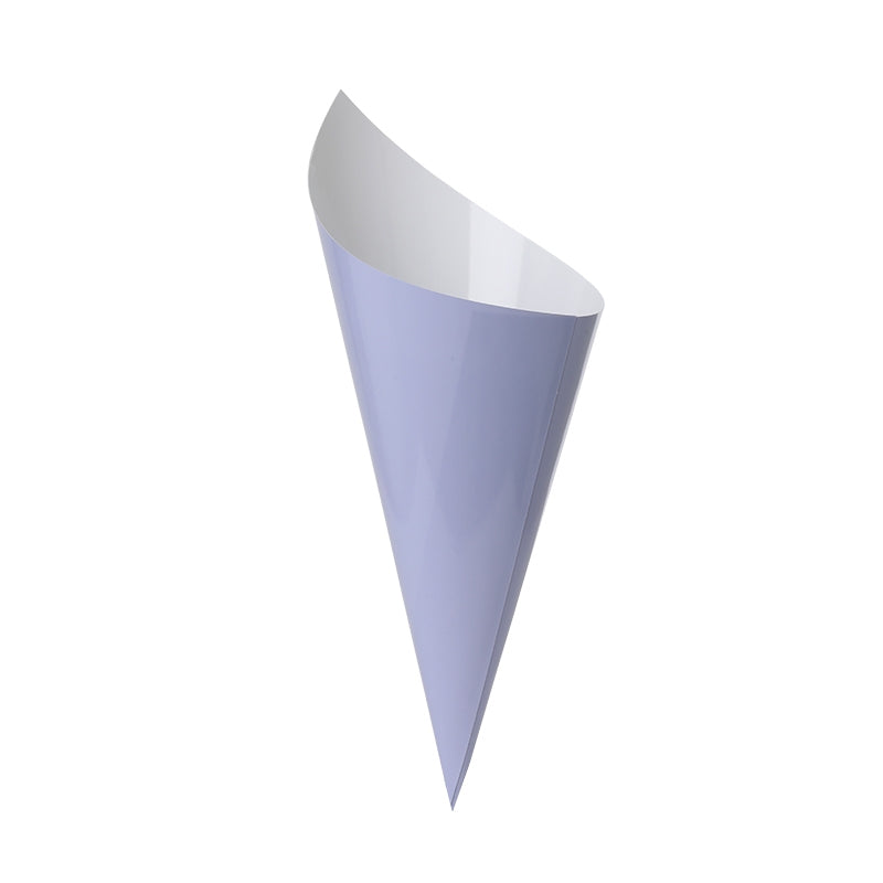 Pastel Lilac Snack Cones (10 pack)