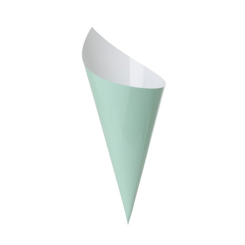 Mint Green Snack Cones (10 pack)