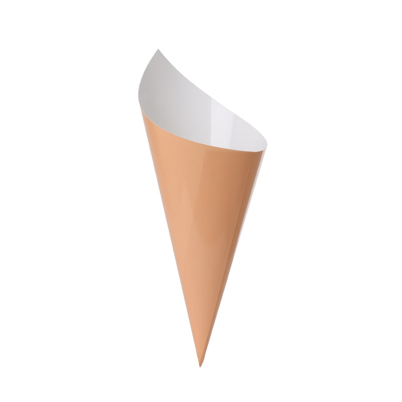 Peach Snack Cones (10 pack)