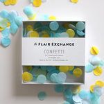 Poolside Handcut Confetti Box