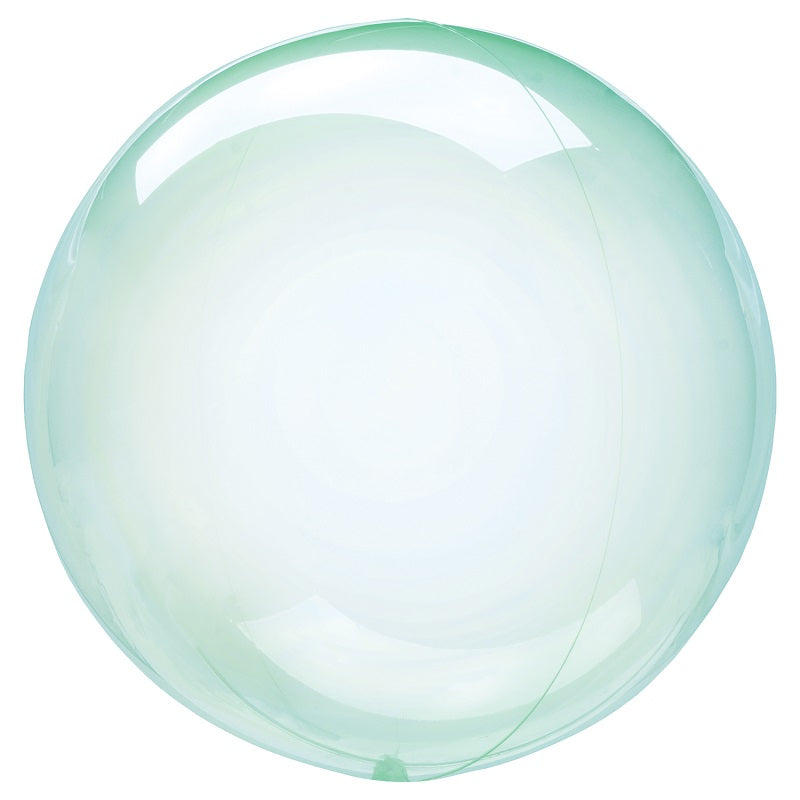 Crystal Clearz Green Balloon