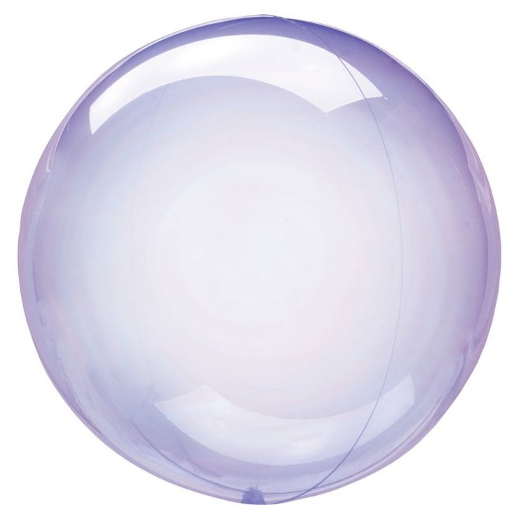 Crystal Clearz Purple Balloon