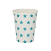 Blue Star Cups (8 pack)