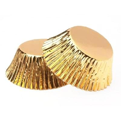 Metallic Gold Cupcake Cases (25 pack)