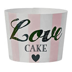 'Love Cake' Baking Cups (24 pack)
