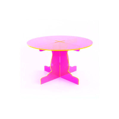 Neon Pink Mini Treat Stand