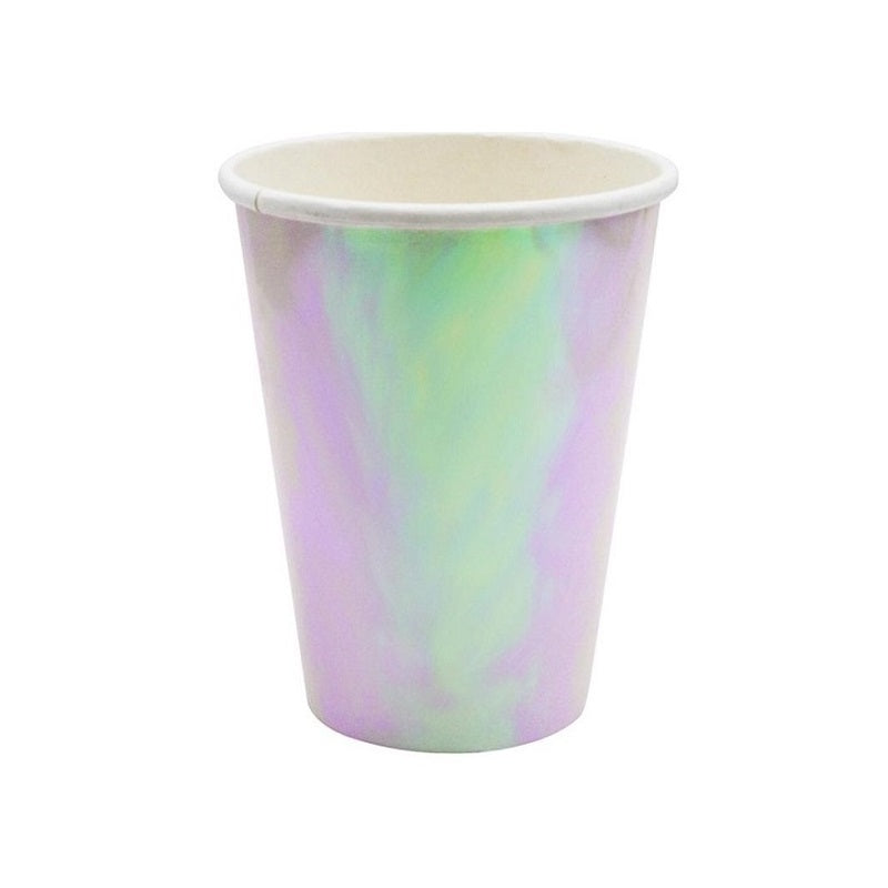 Iridescent Cups (10 pack)