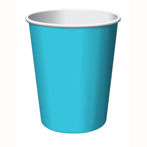 Bermuda Blue Party Cups (24 bulk pack)