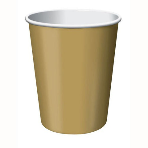 Glittering Gold Cups (24 pack)