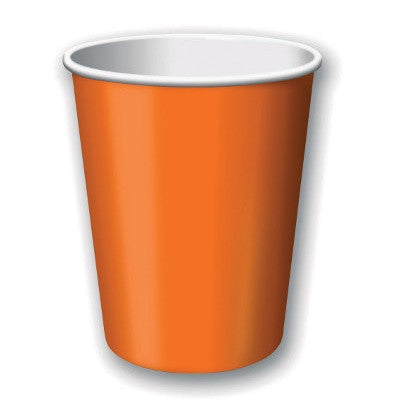 Sunkissed Orange Party Cups (24 pack)
