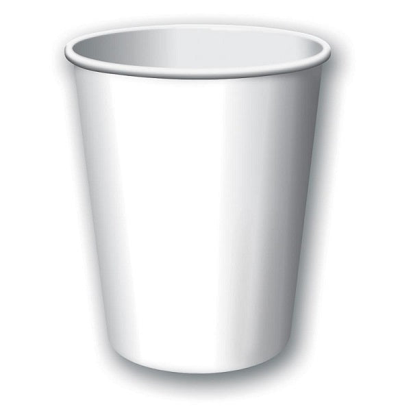 White Party Cups (24 bulk pack)
