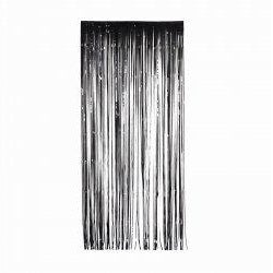 Black Metallic Curtain (90cm)