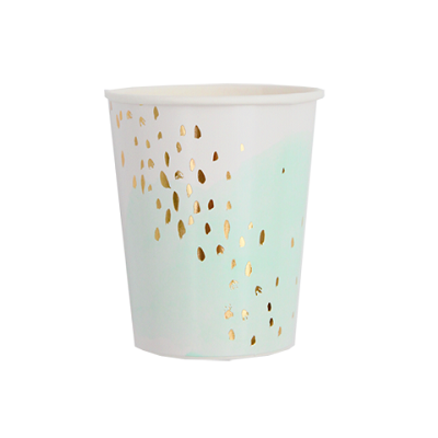 Daydream Watercolour Cups (8 pack)