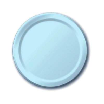 Pale Blue Dessert Plates (24 pack)