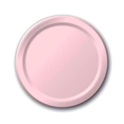 Pale Pink Dessert Plates (24 pack)
