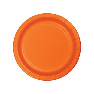 Sunkissed Orange Dessert Plates (24 pack)