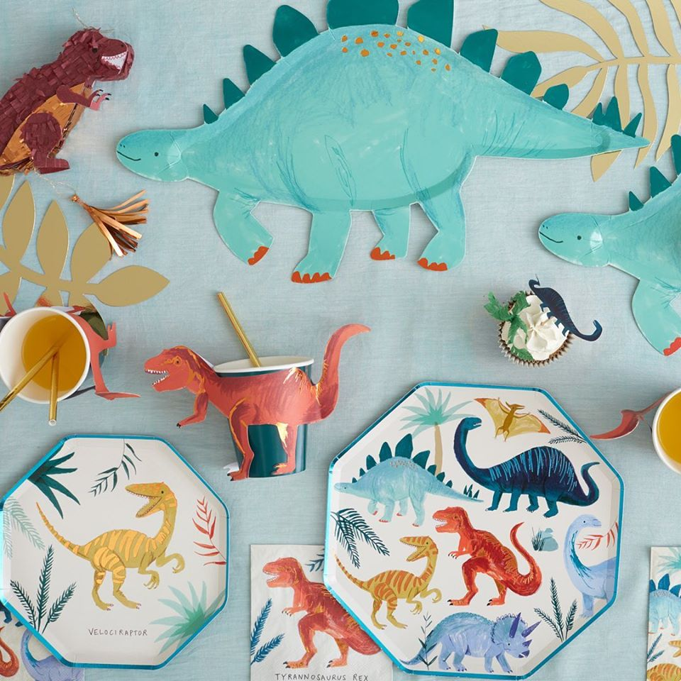 Dinosaur Kingdom Cake Topper Set