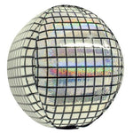 Silver Disco Ball Balloon