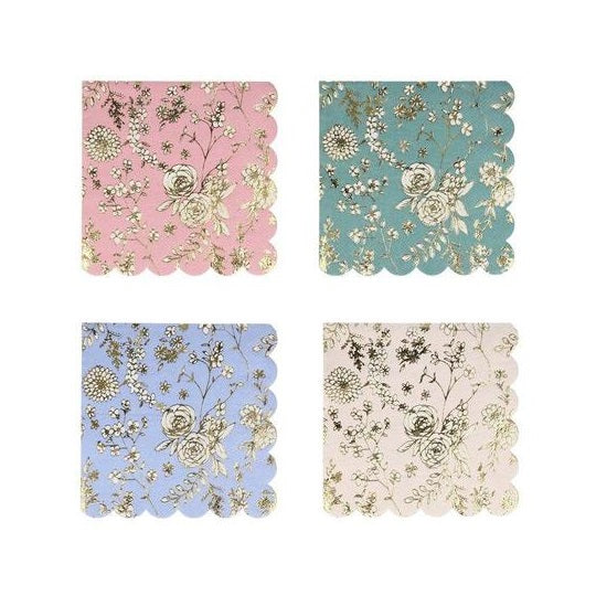 English Garden Lace Small Napkins (16 pack)