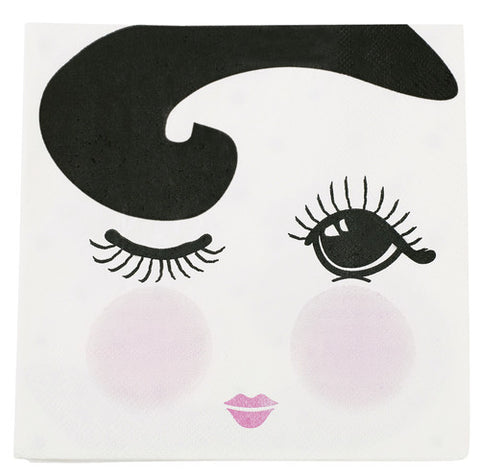 Eyes Closed Napkins (30 pack)