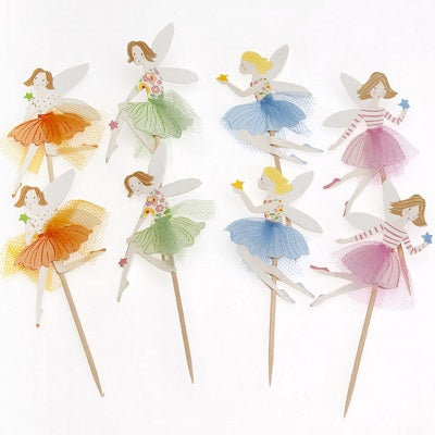 Fairy Princess Cupcake Toppers (8 pack)