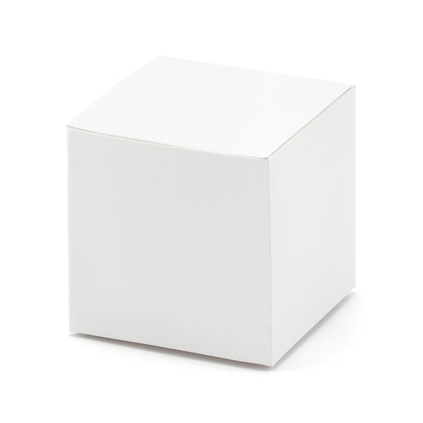 White Square Favour Boxes (10 pack)