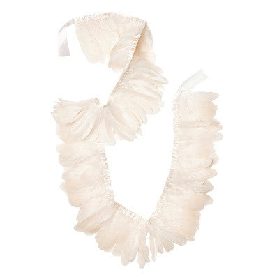 *PRE-ORDER* White Feather Garland
