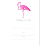 Flamingo Invitations (10 pack)