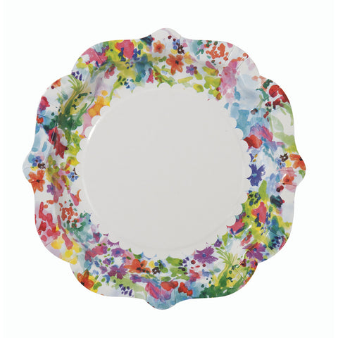Floral Fiesta Plates (12 pack)